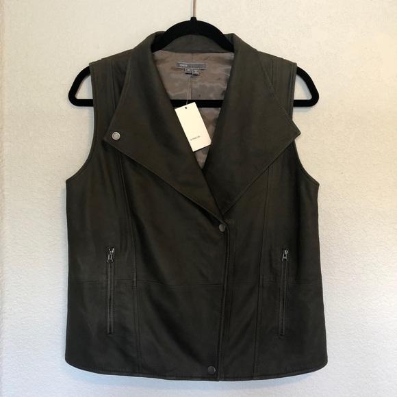 Vince Camuto Jackets & Blazers - Vince Camuto 100% Leather Vest